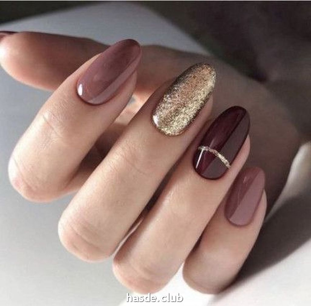 30 Inspiring Winter Nails Color Trend 2020 Oval Nails Designs