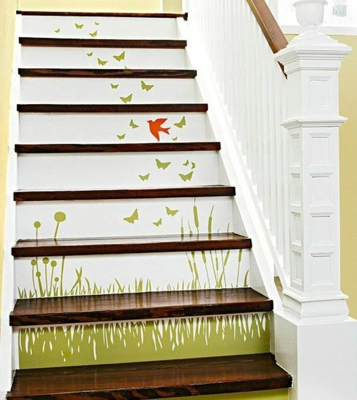 r novation escalier la meilleure id e d co escalier en un clic peinture escalier bois deco. Black Bedroom Furniture Sets. Home Design Ideas