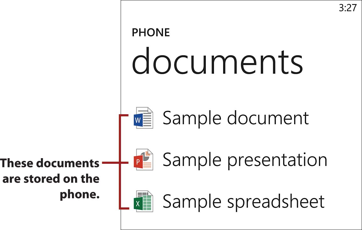 Awesome Windows Phone 8 : Microsoft Office Mobile   Accessing Microsoft Office ...