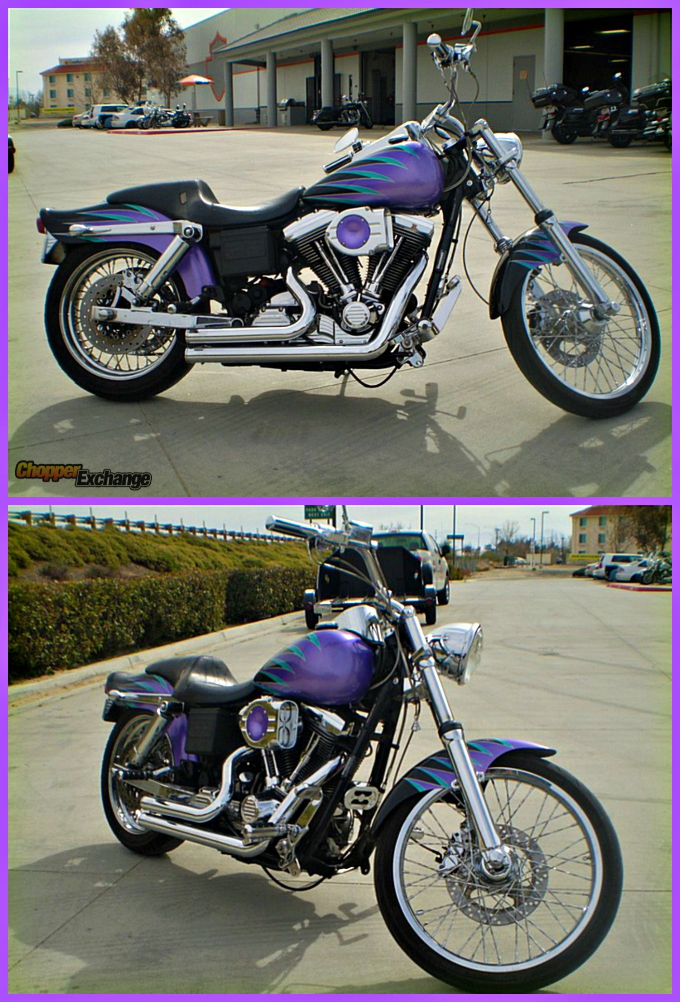 For Sale 1995 Harleydavidson Dyna Wideglide Antelope Valley