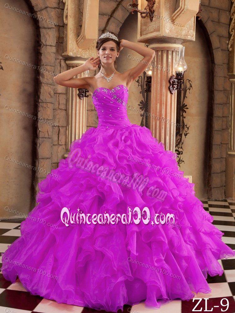 Dark pink color dresses
