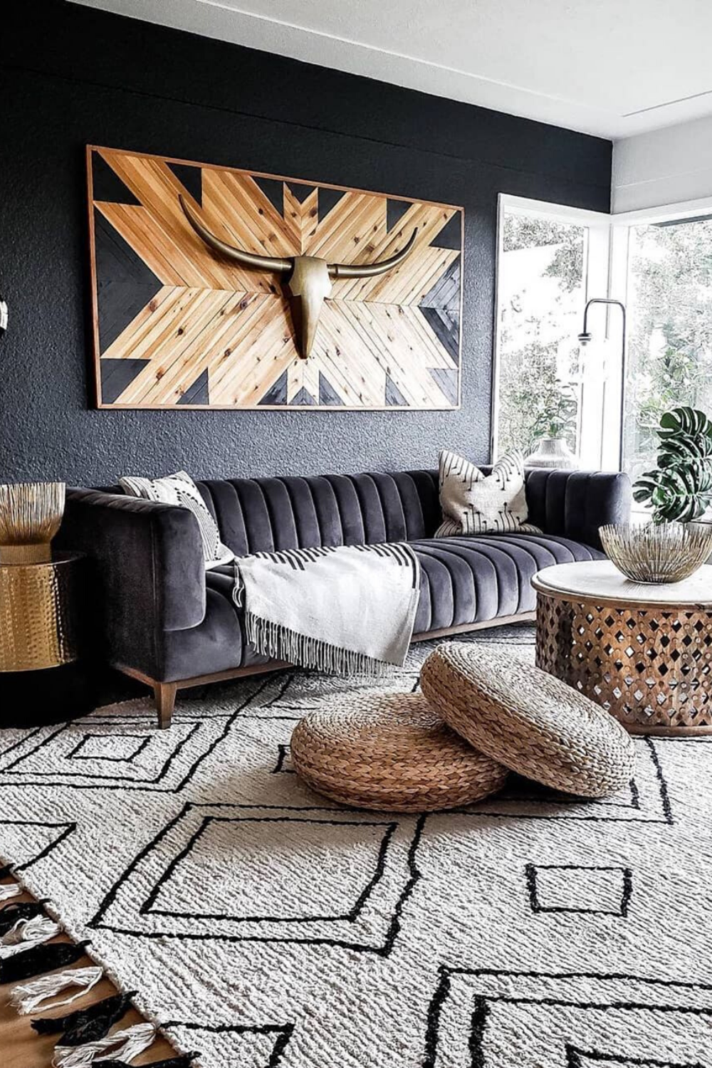 25 Modern Living Room Decor Ideas For Any Budget In 2020 African Home Decor Stylish Living Room Living Room Reveal #stylish #living #room #design