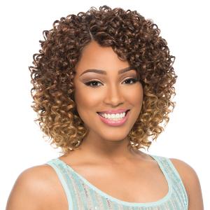Sensationnel Human Blend Weaving Premium Too Shorty Envy Twist Weaving Curly Hair Styles Human Braiding Hair Front Lace Wigs Human Hair