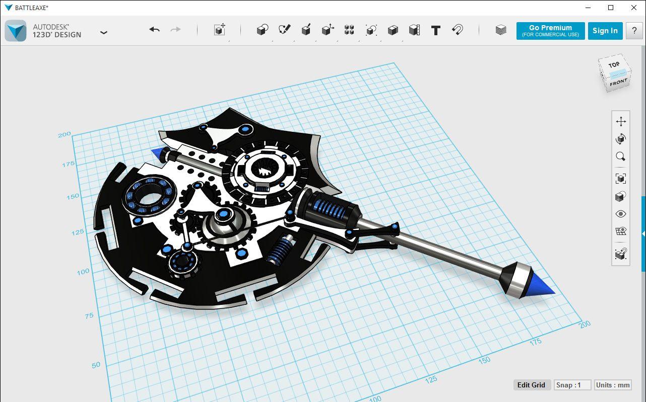 123d design autodesk 123d design pinterest 123d cad