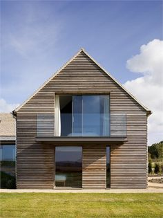 Modern Pitched Roof Google Search Barn House Design Contemporary House Design Converted Barn Homes
