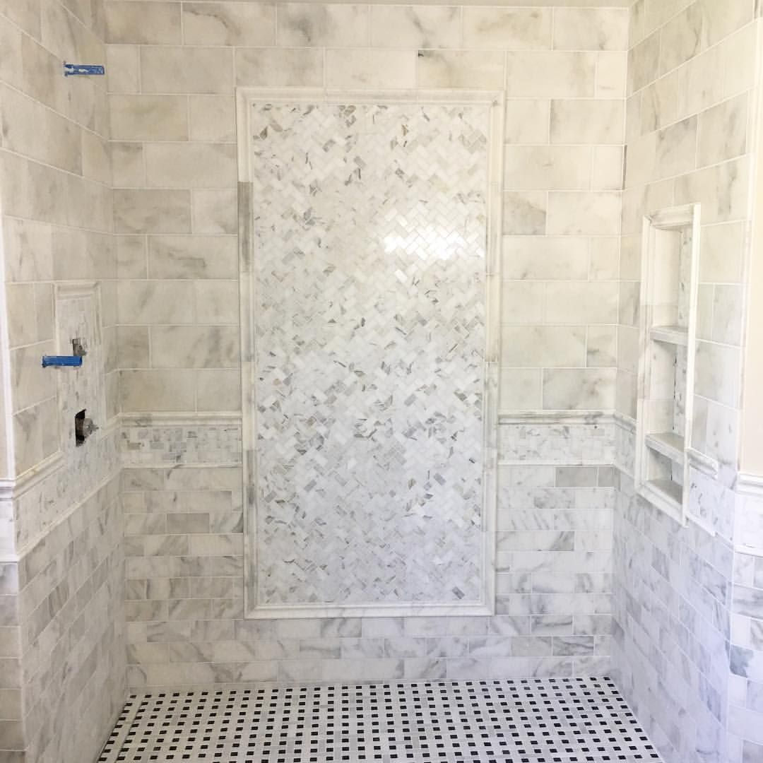 15 Likes 1 Comments Tilebuys Com Tilebuys On Instagram Two Lots Of Calacutta Gold We Used Bathroom Remodel Master Bathrooms Remodel Shower Floor Tile