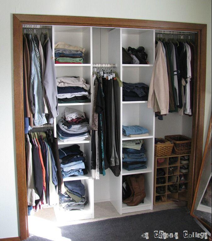 Master Bedroom Closet Redone