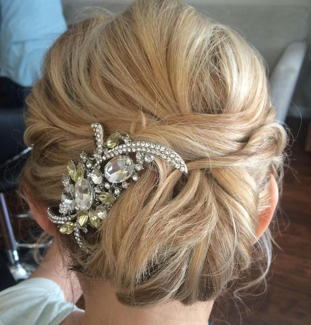 Mom Wedding Hairstyles: 50 Ravishing Mother Of The Bride Hairstyles In 2019