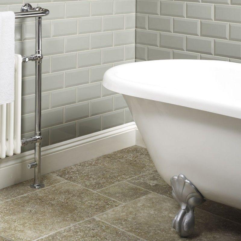 Metro Tiles Tiles Bathroom Tiles Metro Sage Wall Tile 10x20cm Bathroom Wall Tile Tile Bathroom Wall Tiles