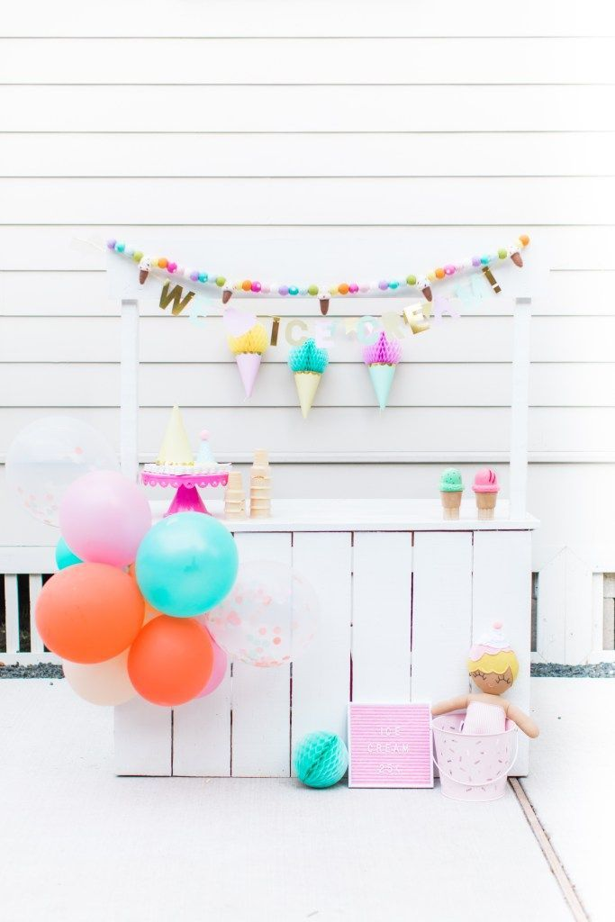 We All Scream For Ice Cream On the Blog! Ice cream party decor inspiration! Pint, lavender, pink, blush, and teal! All my favorite colors for some ice cream fun! Shop all the products you see here on the blog! #DIY #create #lemonadestand #partydecor #partypeople #kidsparty #decorideas #party #toddler #kids #icecream #DIY #doityourself #blogpost #decor #decoration #melissaanddoug #target #merimeri #partyideas #toddlerparty #icecreamsocial #events #inspiration #min #teal #pink #coral #peach