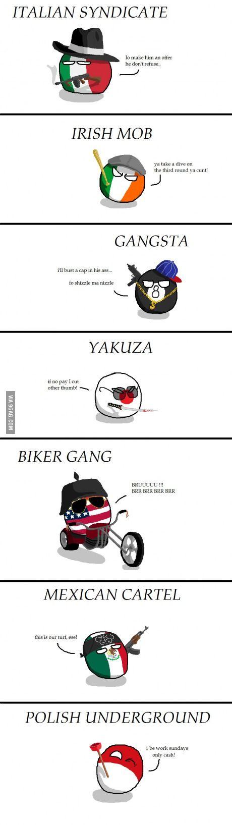 Organized crime around the world