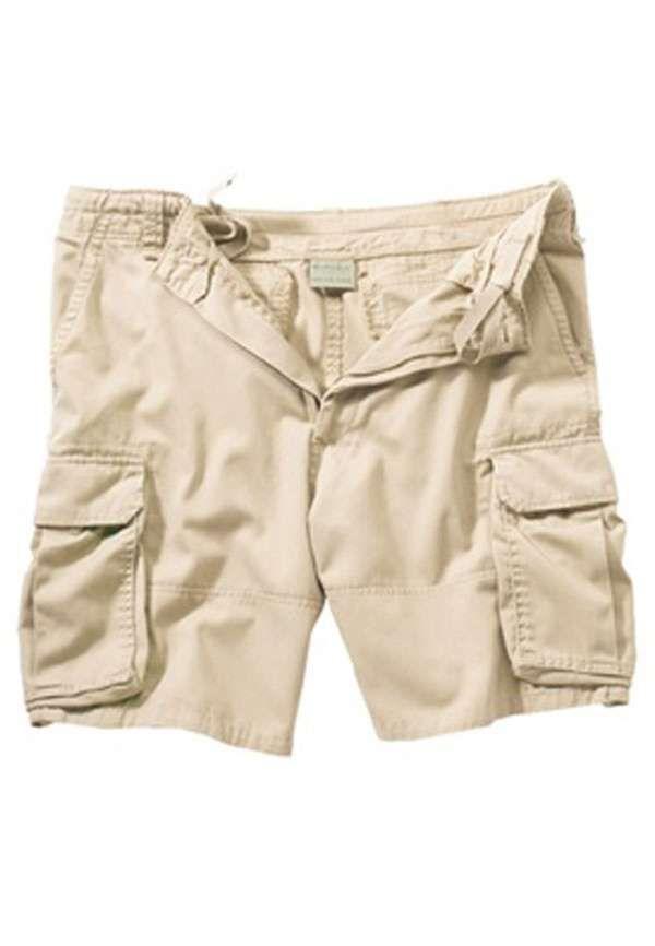 Khaki Vintage Paratrooper Cargo Shorts | Men's Shorts | Pinterest ...