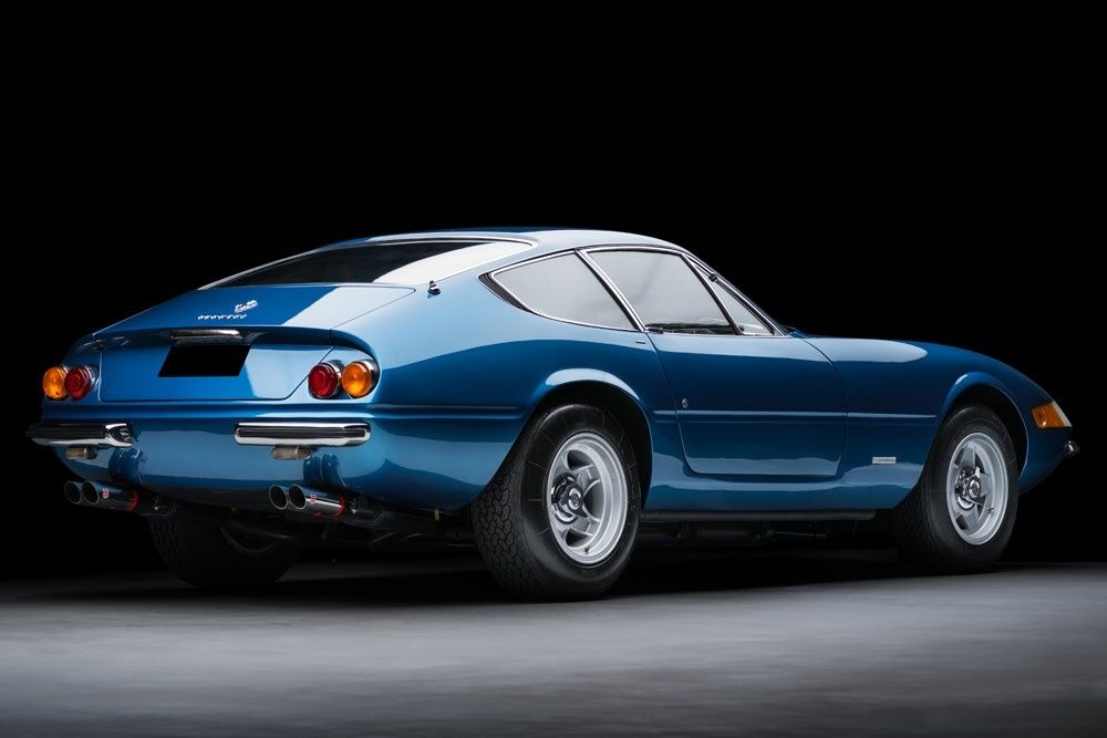 Dino Blue Daytona 1970 Ferrari 365 GTB/4 Classic sports