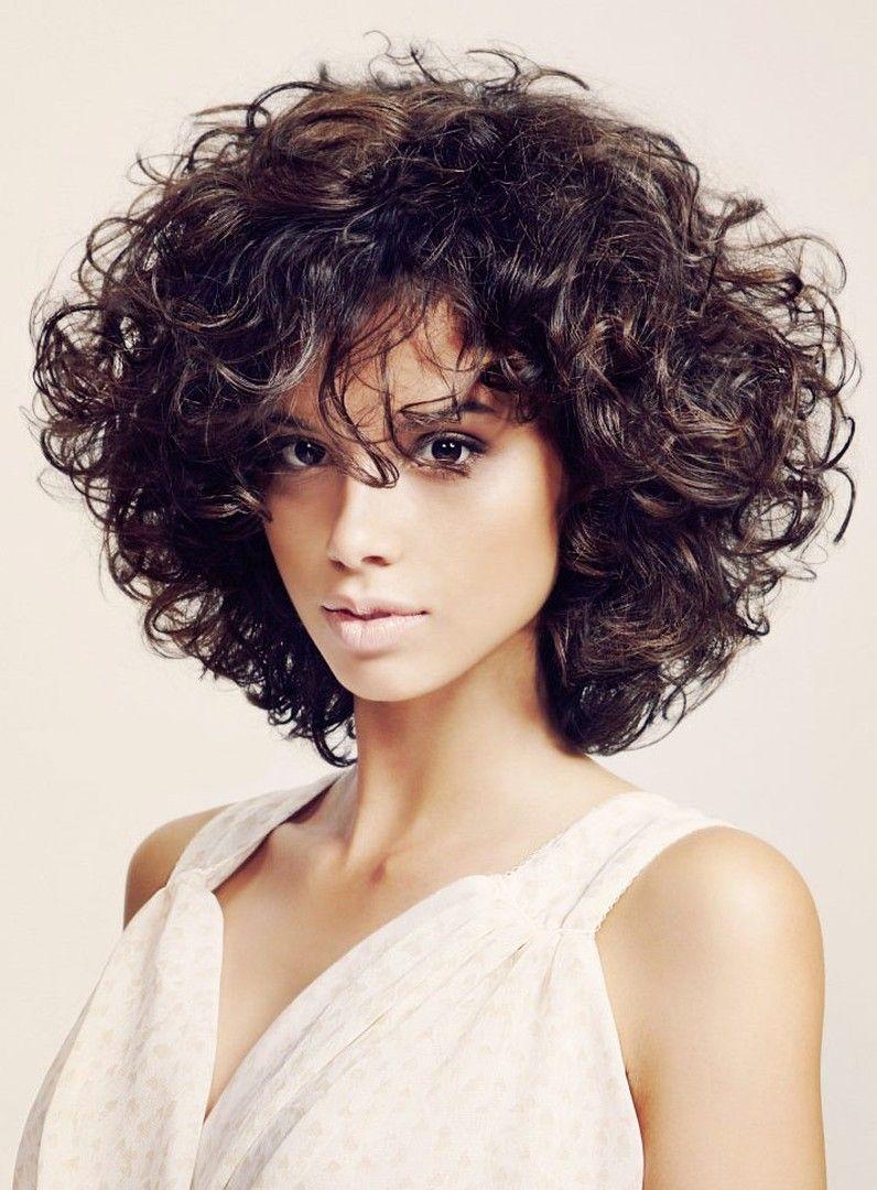 Fashion Curly Bob Hairstyle Wig