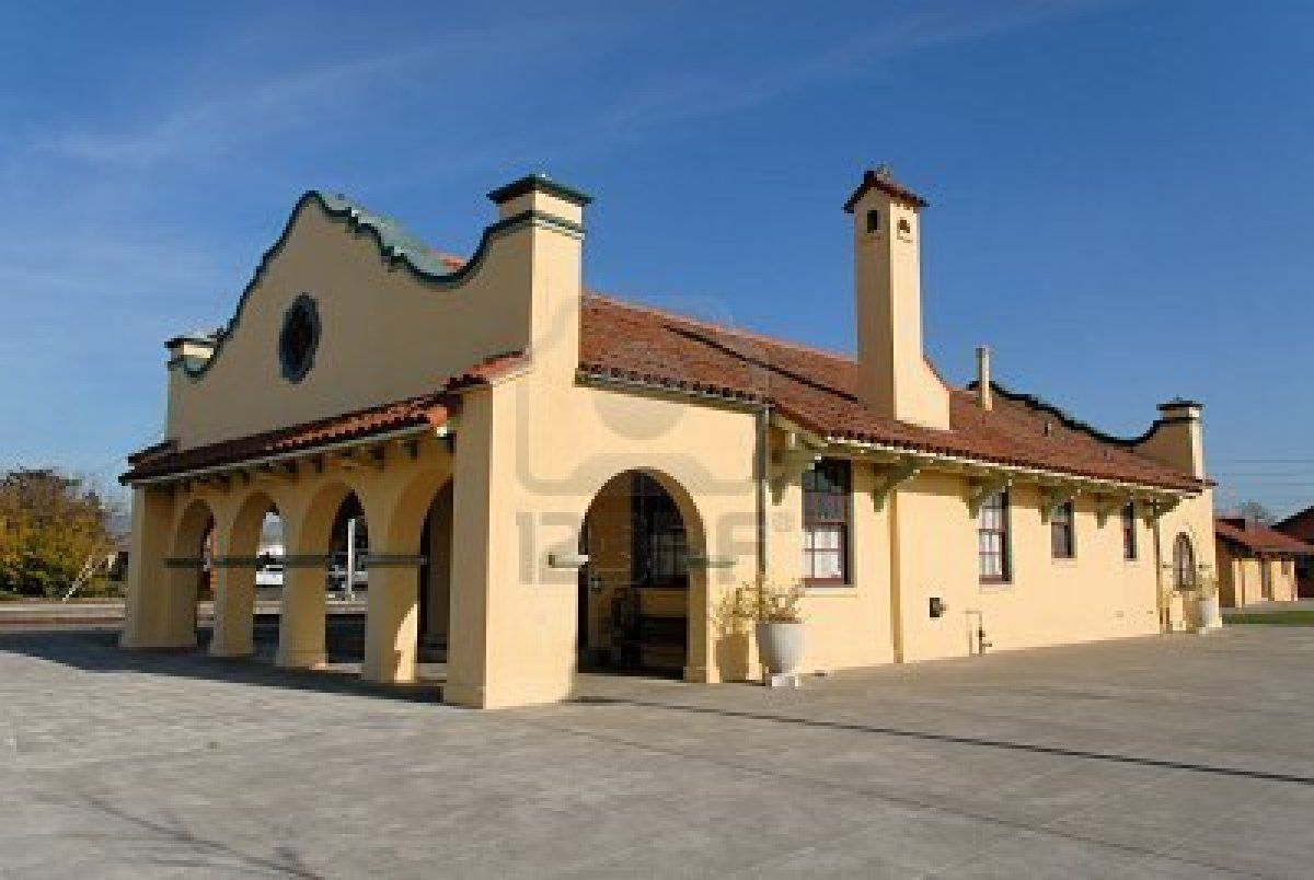Petaluma Sonoma County Train Station Train Depot California