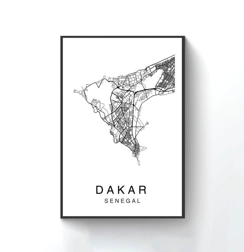 Dakar Map Print, Dakar Map Poster Wall Art, City Map Art ... on ramallah city map, limassol city map, ibadan city map, bulawayo city map, apia city map, aleppo city map, fortaleza city map, libya city map, cameroon city map, gwangju city map, kumasi city map, accra city map, cotonou city map, goteborg city map, murmansk city map, kaliningrad city map, malabo city map, zambia city map, dushanbe city map,