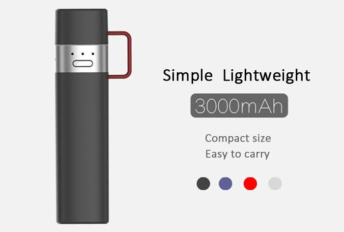 MIPOW SPL06 3000mAh MFI Certified Mobile Power Bank Built-in 8 Pin and USB Male Input Interface Portable Charger with Indicator Light-49.99 and Free Shipping| GearBest.com