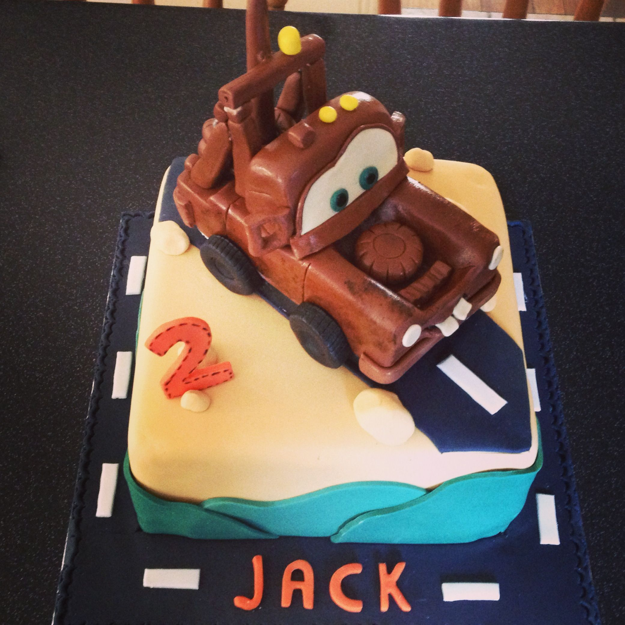 Mater cake for Jack's 2nd birthday x