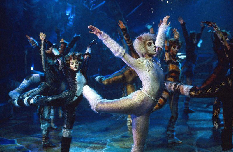 The 1998 Cats film - Cats The Musical, even though this is a - best of lyrics invitation to the jellicle ball