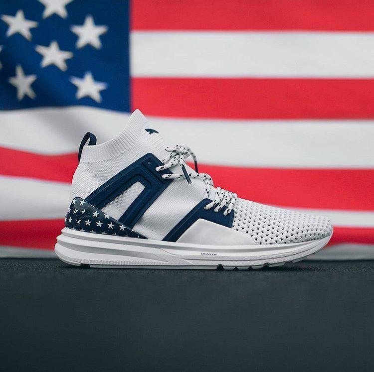 puma ignite american flag