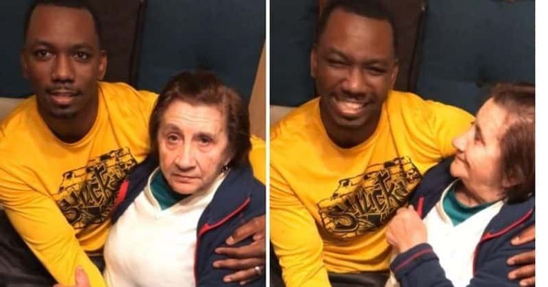 EPIC: Grandmother meets man of color for the first time ...