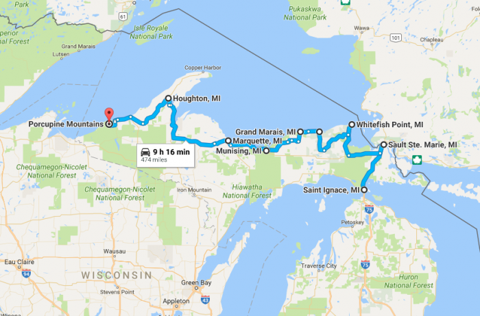 Here S The Perfect Itinerary For One Week In Michigan S Upper Peninsula Michigan Road Trip Michigan Travel Upper Peninsula Michigan