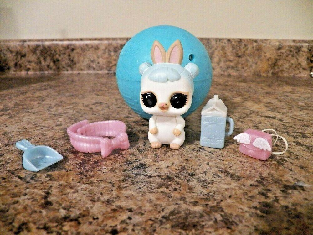 Lol Surprise Eye Spy Series Snow Bunny Pet Mga Lol Dolls