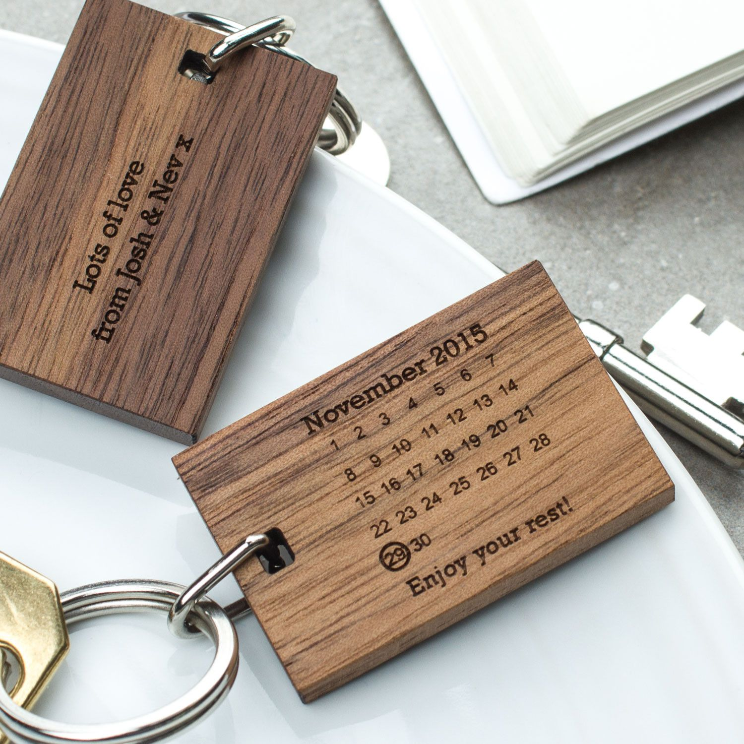 Enjoy your rest keyring create gift love 13 this