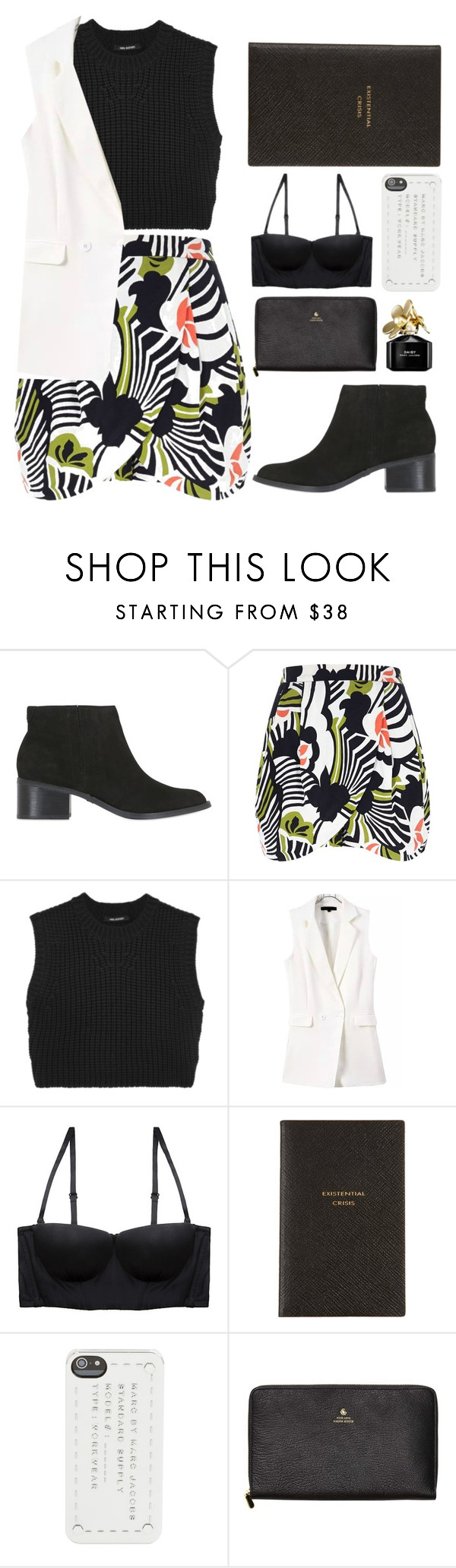 """Sem título #631"" by andreiasilva07 ❤ liked on Polyvore featuring KG Kurt Geiger, River Island, Neil Barrett, La Perla, Smythson, Marc by Marc Jacobs, Scotch & Soda and Marc Jacobs"