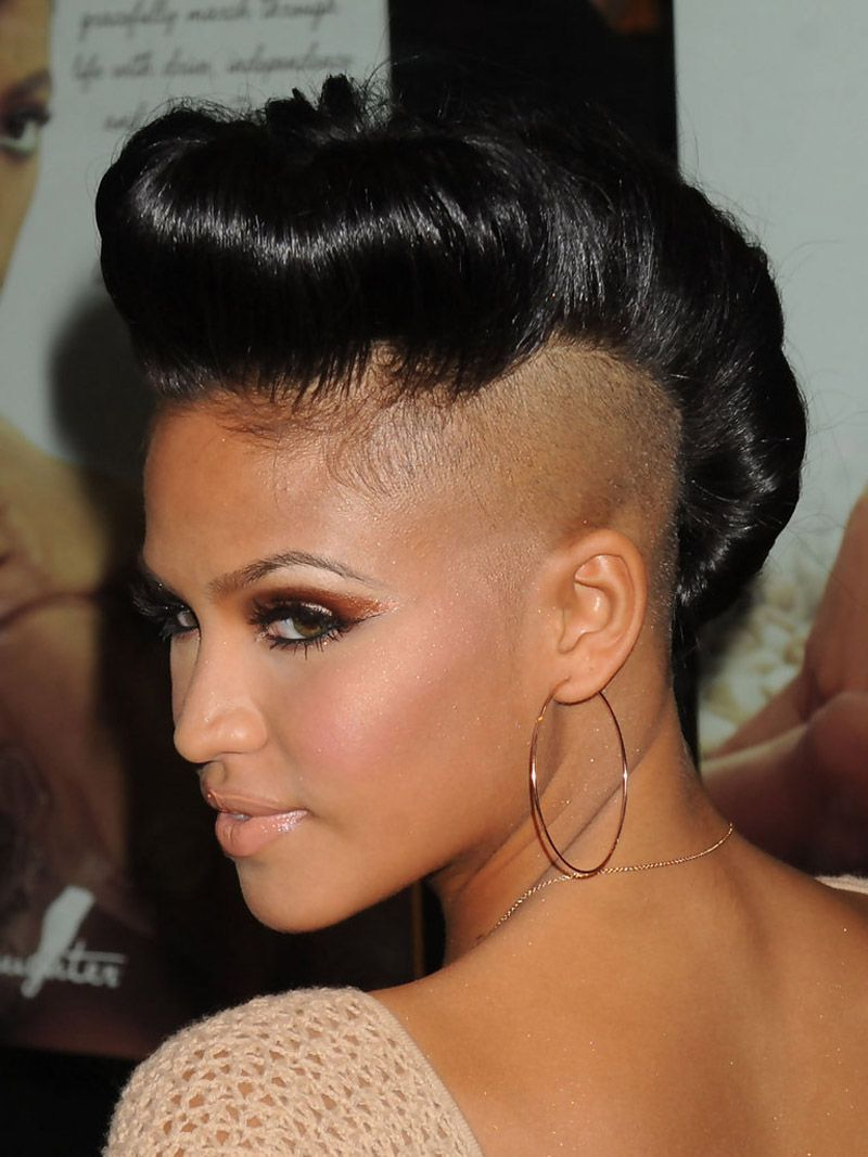 short hairstyles and haircuts for black women of class in