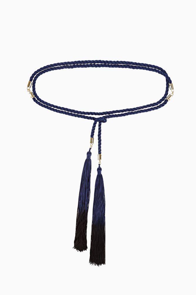 Cintura cordone con nappe elisabetta franchi
