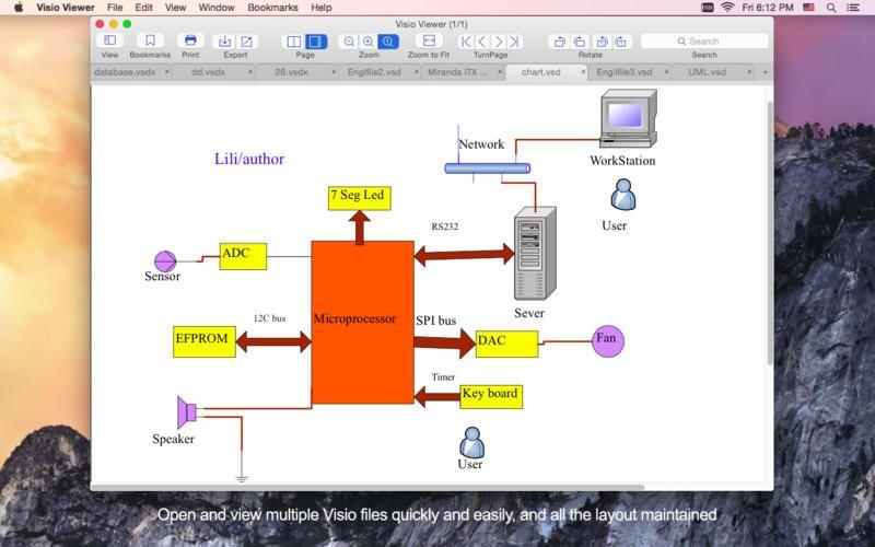 visio viewer lets you easily quickly view and save microsoft visio docs microsoft visiomac osmac - Visio Mac Os