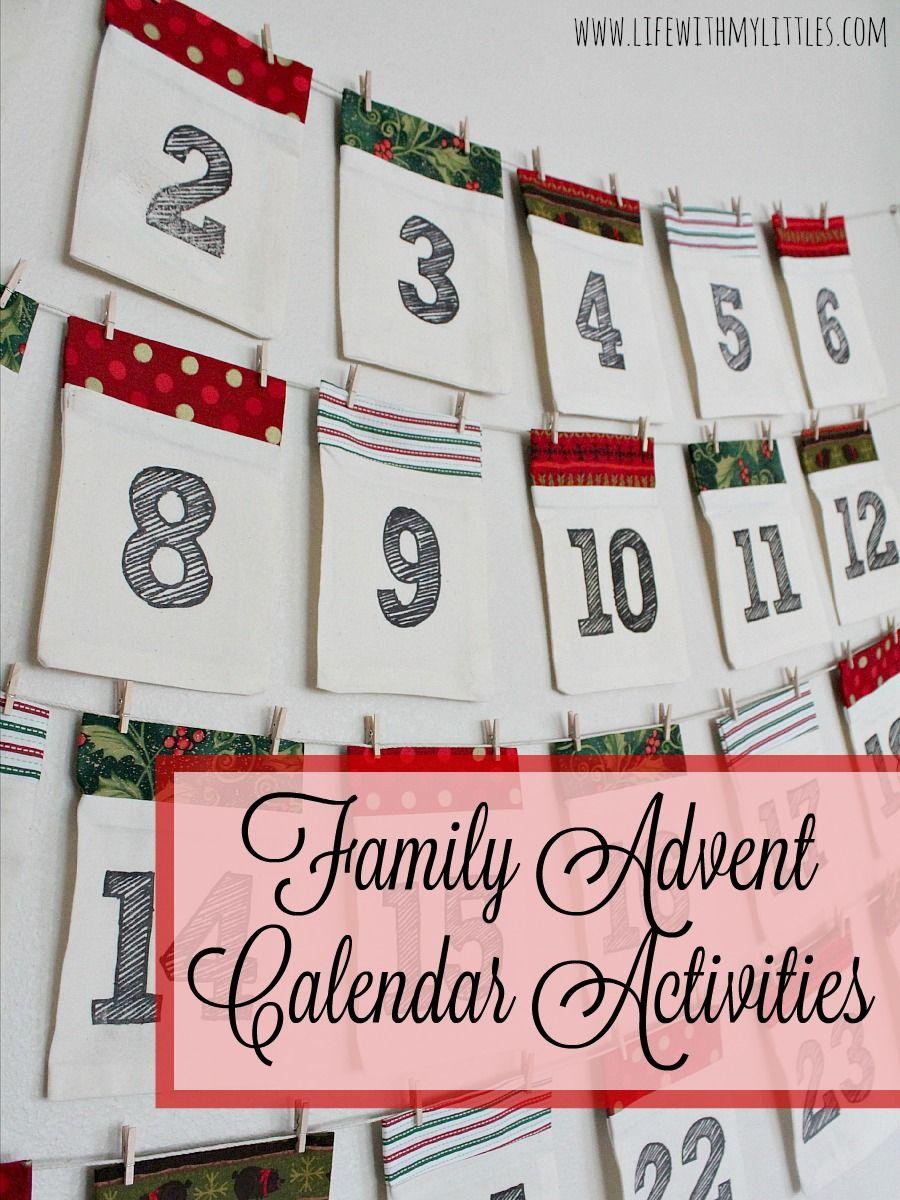 family advent calendar activities best of pinterest. Black Bedroom Furniture Sets. Home Design Ideas