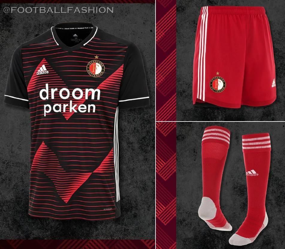 Feyenoord Rotterdam 2020/21 adidas Away Kit - FOOTBALL FASHION in ...