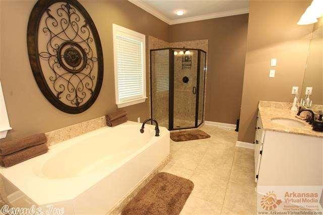 5 Grayan Court, Little Rock AR - Trulia Interesting shower set up