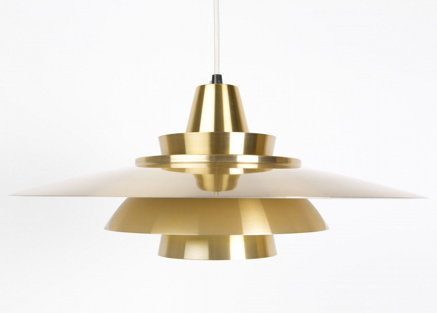 Hanging lamp from the sixties by Mogens Davidsen for David Super Light AS