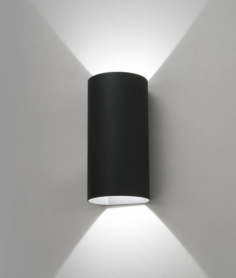 Luminaria Exterior Aplique Gris Oscuro Bruc Led Iluminacion Del Hogar Apliques De Pared Muebles De Tubo De Pvc