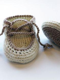 Vauvan virkatut tossut Novita Nalle   Novita knits