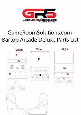 Details about Bartop Arcade Kit Bundle, Sanwa, LED Buttons