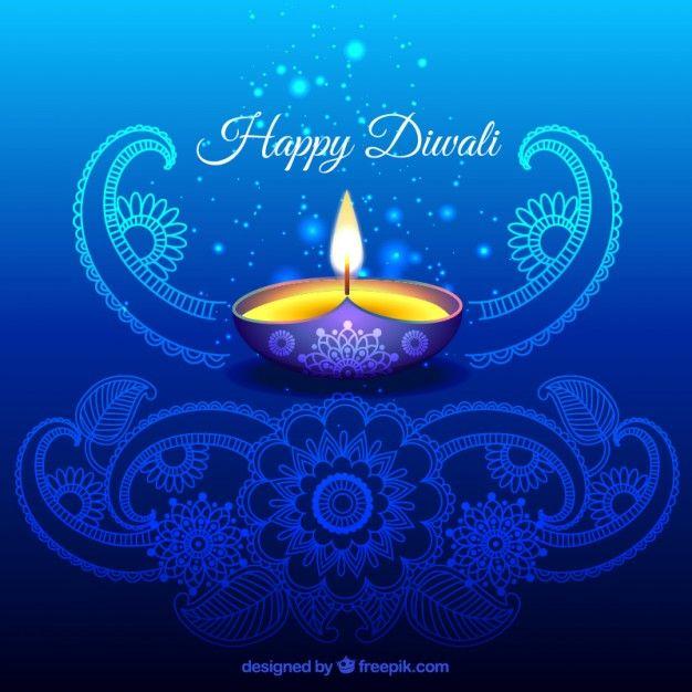 Ornamental Diwali Background In Blue Color Happy Diwali Wallpapers Happy Diwali Images Diwali Wishes Diwali background images hd download