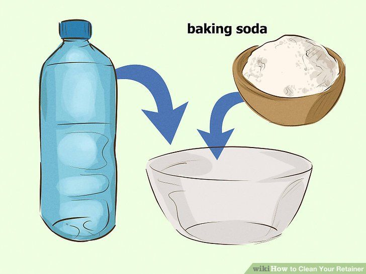 Clean your retainer baking soda cleaning retainers