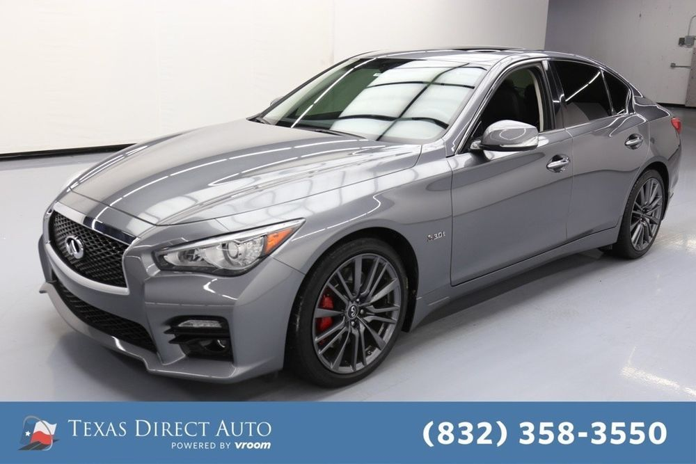 For Sale 2017 Infiniti Q50 Red Sport 400 Texas Direct
