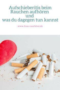 Mit dem rauchen aufhören in 3 Schritten