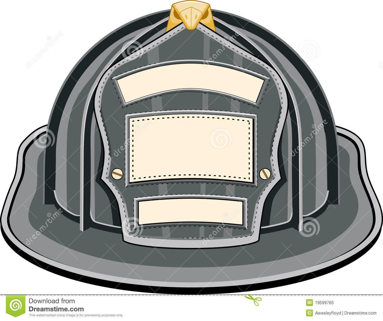 firefighter helmet black royalty