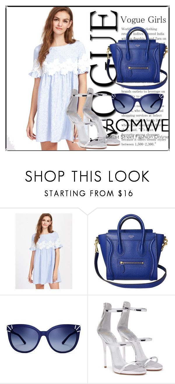 """""""Untitled #45"""" by bahar4-1 ❤ liked on Polyvore featuring Tory Burch and Giuseppe Zanotti"""