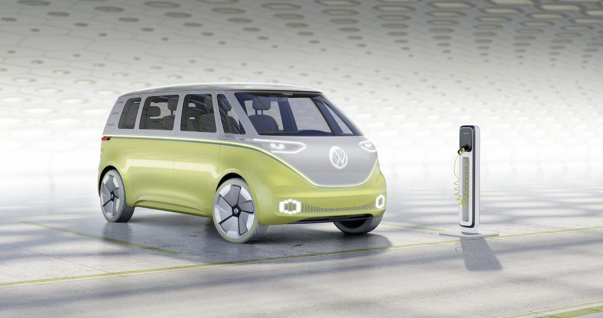 Volkswagen Just Unveiled A Self Driving Electric Microbus Concept