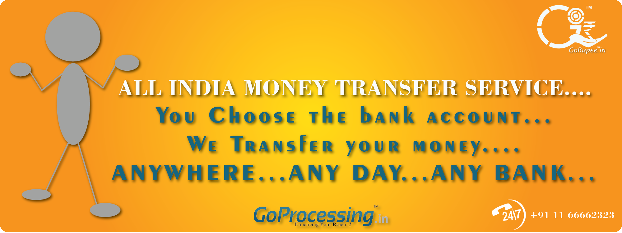 All India Money Transfer Service You Choose The Bank Account We Your Anywhere Any Day