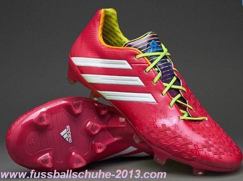 günstig adidas Predator LZ TRX FG Fußballschuhe-Rot/Weiß/Grün - See more