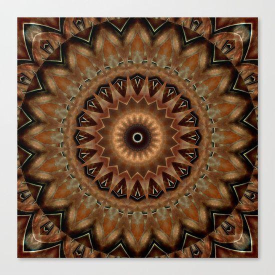 mandala mother earth canvas print  mandalas leinwand