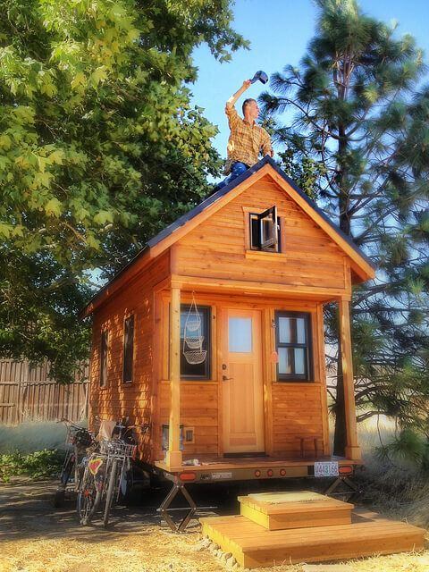 Tiny House Plans Free To Download Print 8 Tiny House Blueprints Diy Tiny House Diy Tiny House Plans Tiny House Plans Free
